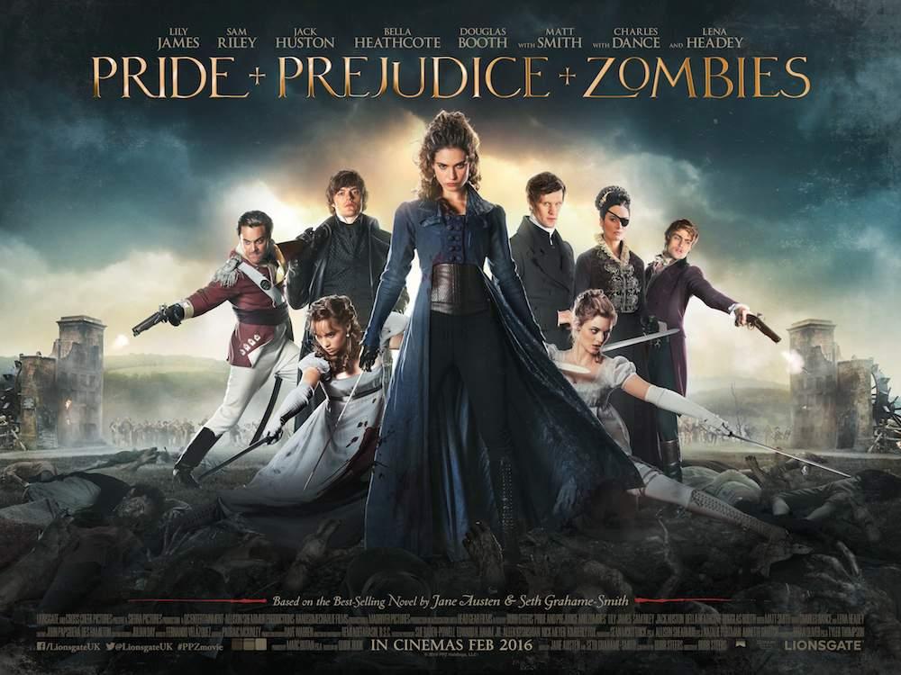 """Résultat de recherche d'images pour """"pride and prejudice and zombies"""""""