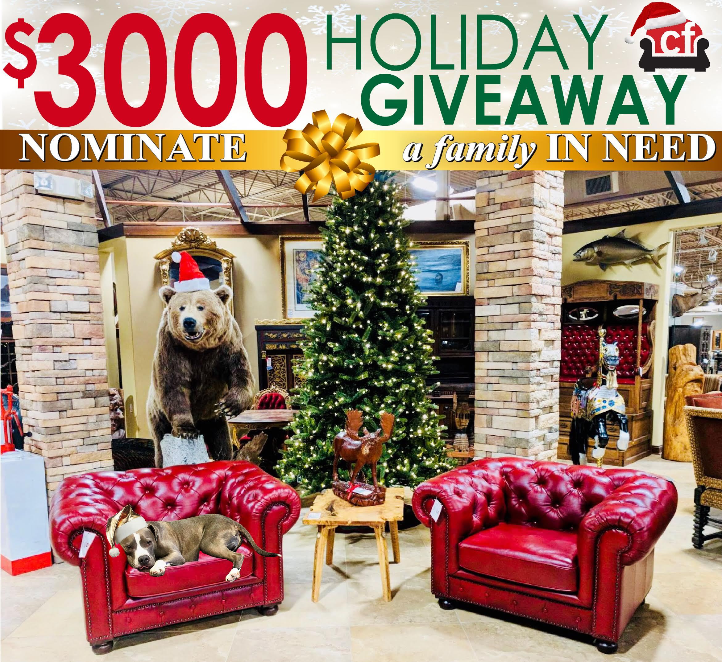 Consign Furniture Giveway