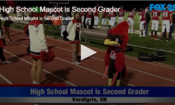 High School Mascot is Second Grader