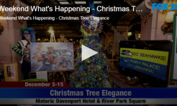 Weekend What's Happening – Christmas Tree Elegance